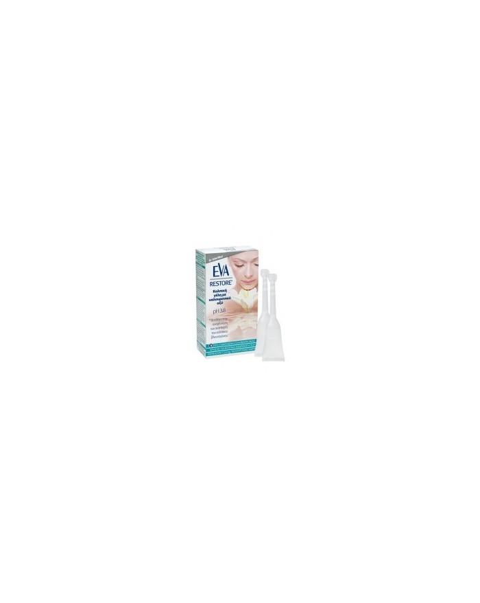Eva Restore Gel Κολπική γέλη με υαλουρονικό οξύ 9 Σωληνάρια