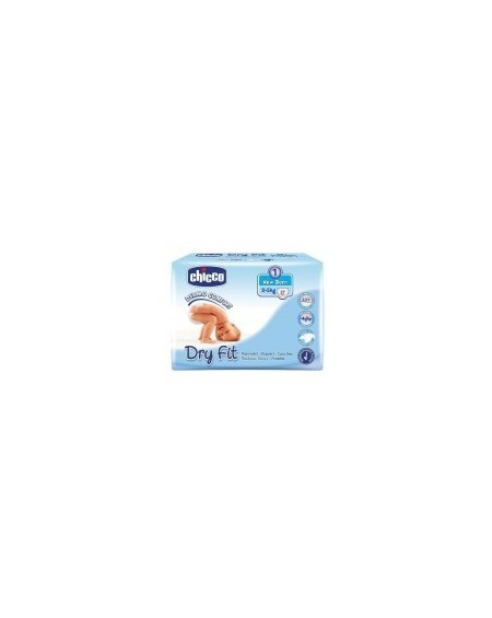 Chicco Πάνες Chicco Dry Fit, No1 2-5kg(27τμχ)