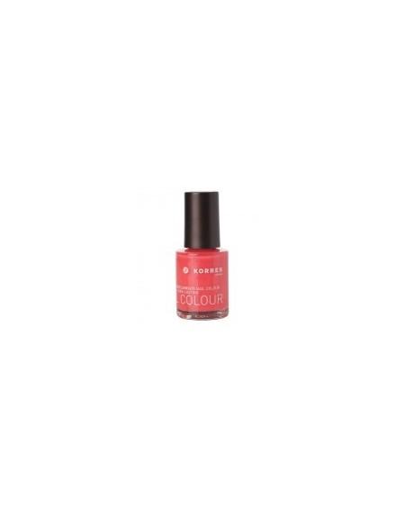 Korres Nail Colour Mύρος & Ιχνοστοιχεία 10ml 49 Grenadine Pink