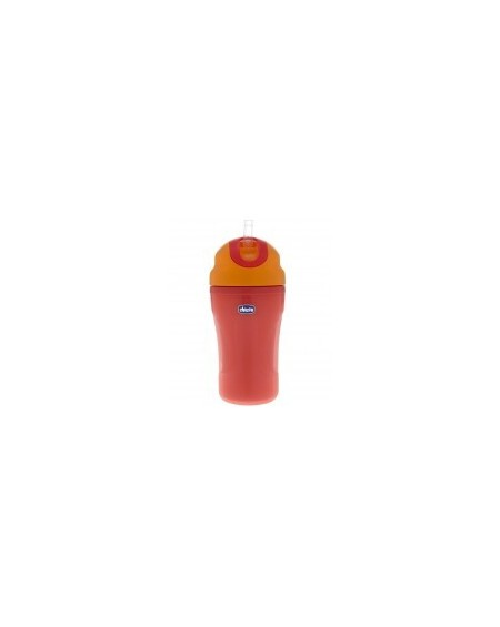Chicco Insulated Cup 18m+ 266ml Πορτοκαλί