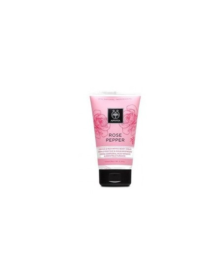 Apivita Rose Pepper Firming & Reshaping Body Cream 150ml