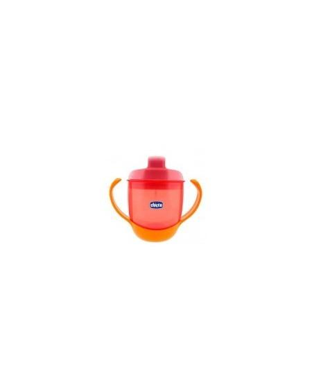 Chicco Κύπελλο Φαγητού Πορτοκαλί 12m+