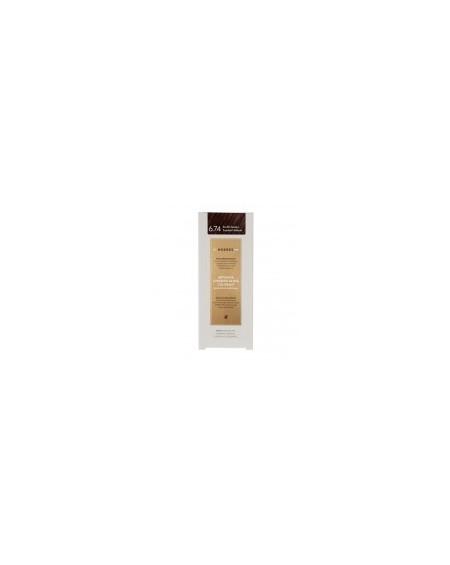 Korres Abyssinia Superior Gloss Colorant 6.74 Ξανθό Σκούρο Σοκολατί-Χάλκινο 50ml