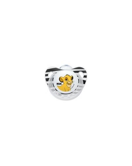 Nuk Trendline Lion King Πιπίλα Silicone 6-18m