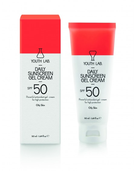 Daily Sunscreen Gel Cream SPF 50 Oily Skin 50ml