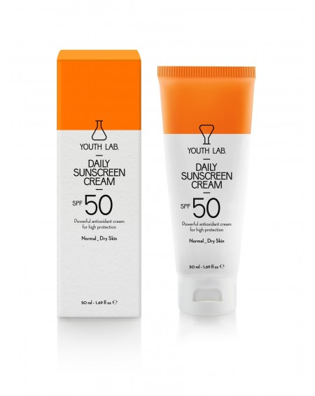 Daily Sunscreen Cream SPF 50 Normal _Dry Skin