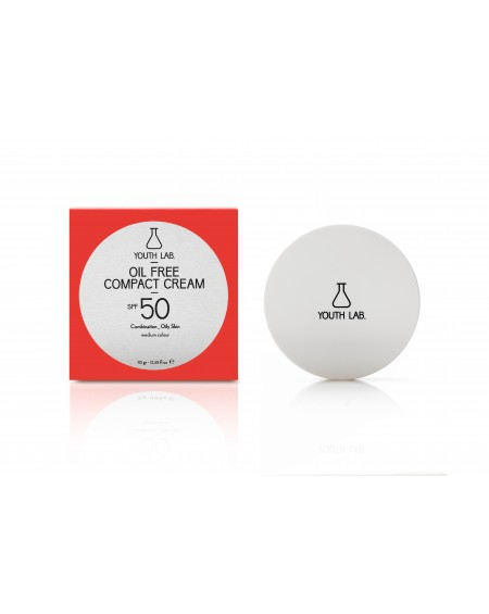 Oil Free Compact Cream SPF 50 (medium colour) Combination_Oily Skin 10ml