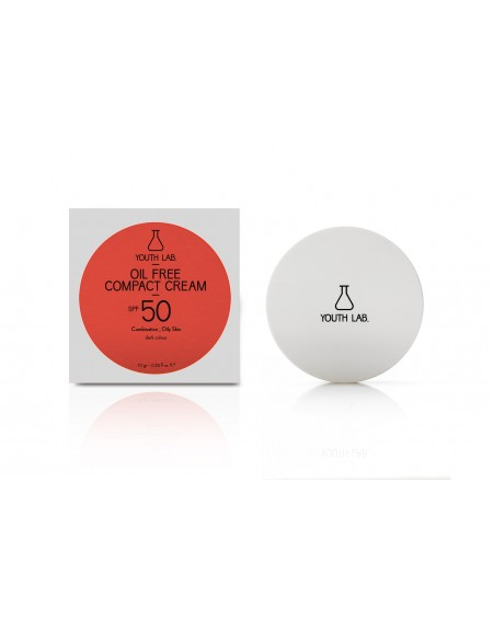 Oil Free Compact Cream SPF 50 (dark colour) Combination_Oily Skin 10ml