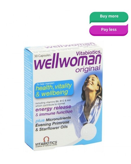 Vitabiotics Wellwoman Original 30 Caps