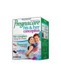 Vitabiotics Pregnacare His & Her Conception 60Tabs