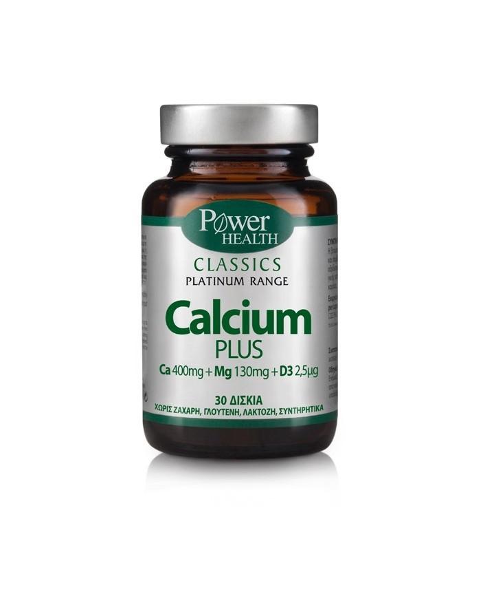 Power Health Classics Platinum Calcium Plus 30disks