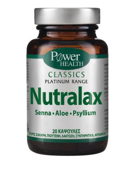 Power Health Classics Platinum Nutralax 20 caps