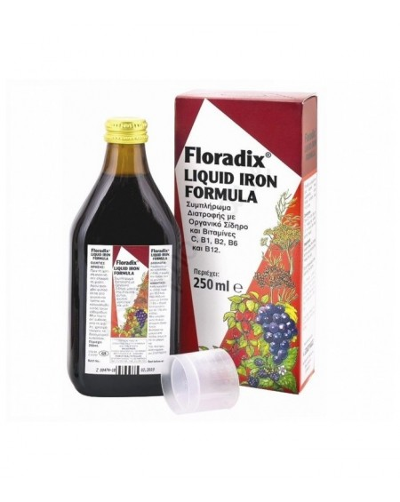Power Health Floradix Liquid Iron Formula 250ml