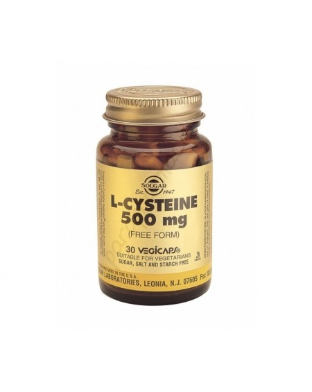 Solgar L-Cysteine 500mg Vegicaps 30s