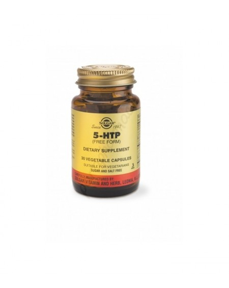 Solgar 5-HTP (Hydroxytryptophan) 100MG vegicaps 30S