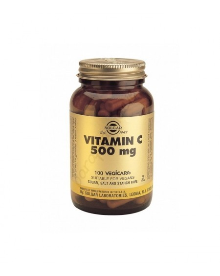 Solgar Vitamin C 500MG Vegicaps 100S
