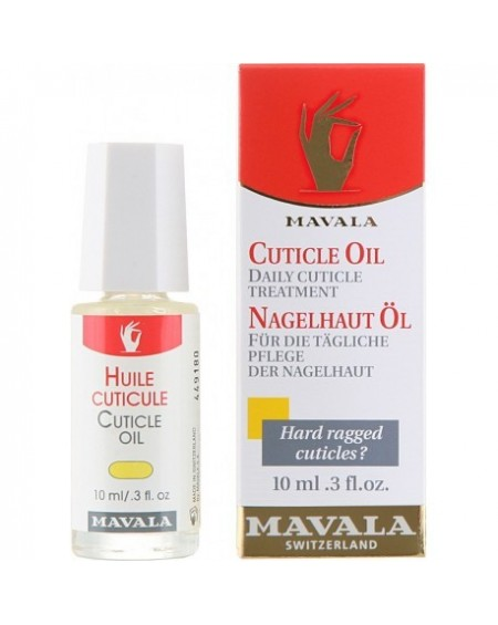 Mavala Cuticle Oil Θρεπτικό Λάδι Ανάπλασης Παρανυχίδων 10ml