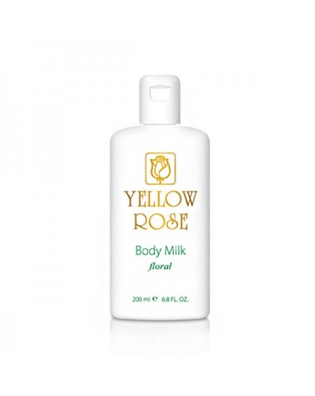 YELLOW ROSE BODY MILK (200ML)
