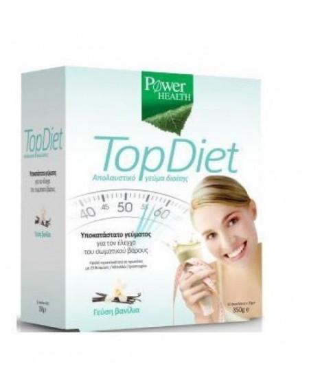 Power Health Top Diet γεύση Βανίλια 350gr