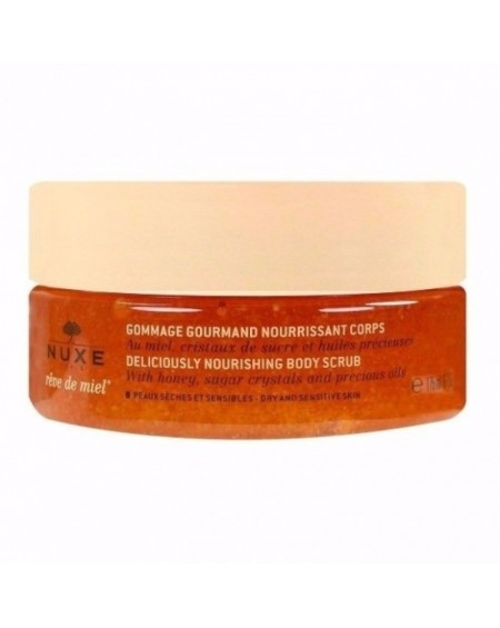 NUXE REVE DE MIEL DELICIOUSLY NOURSHING BODY SCRUB 175ML