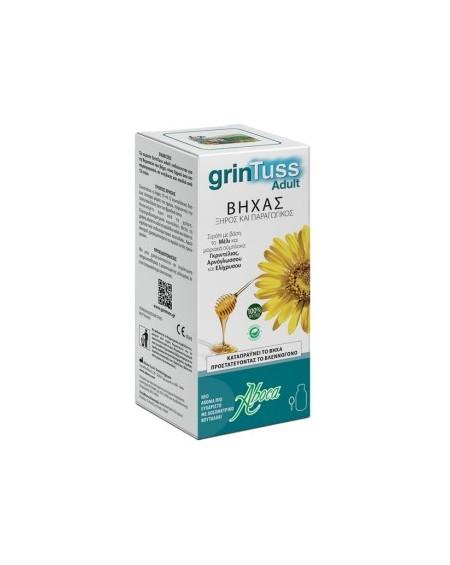 Aboca Grintuss Adult Σιρόπι Eνηλίκων για Ξηρό & Παραγωγικό Βήχα 180gr.