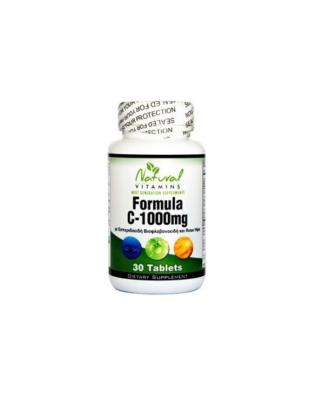 Natural Vitamins Vitamin C 1000mg 30tablets