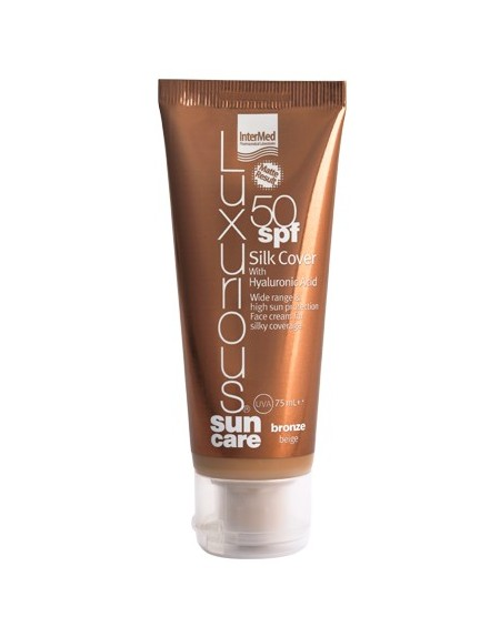Luxurious Sun Care Silk Cover Bronze SPF 50 75ml