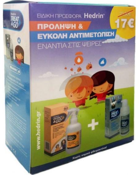 Hedrin ΠΑΚΕΤΟ με Protect & Go Προληπτική Αντφθειρική Λοσιόν