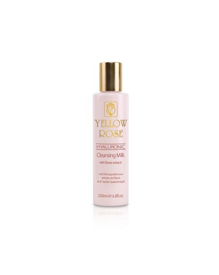 YELLOW ROSE HYALURONIC CLEANSING MILK WITH FLOWER EXTRACTS