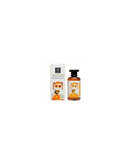 Apivita Eco-Bio Baby & Kids Hair & Body Wash with Calendula 200ml