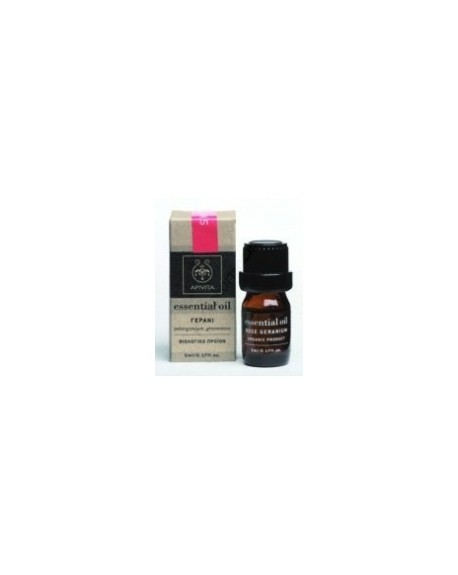 Apivita Essential Oil Geranium Pelargonium graveolens 5ml