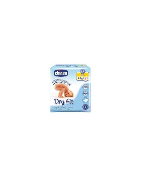 Chicco Πάνες Chicco Dry Fit No3, 4-9kg(21τμχ)