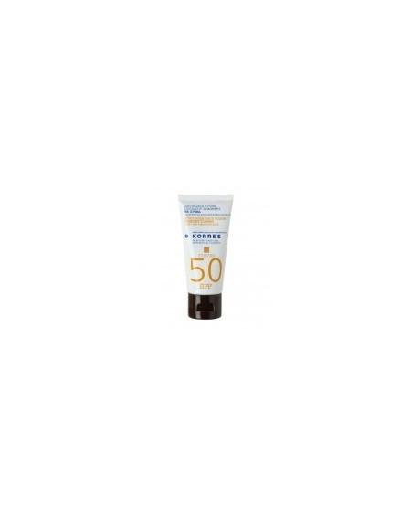 Korres Sunscreen Tinted Face Cream Yoghurt SPF50 50ml