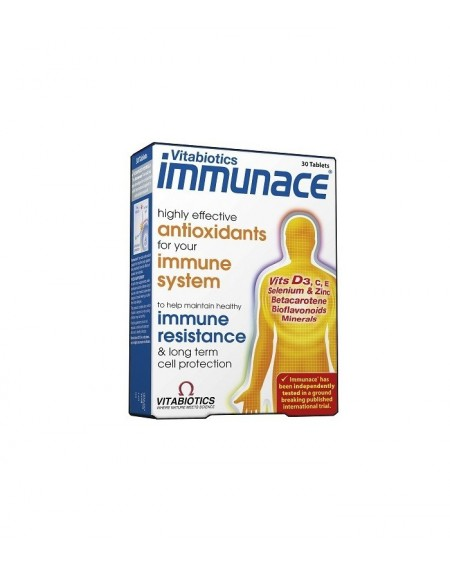 Vitabiotics Immunace 30caps