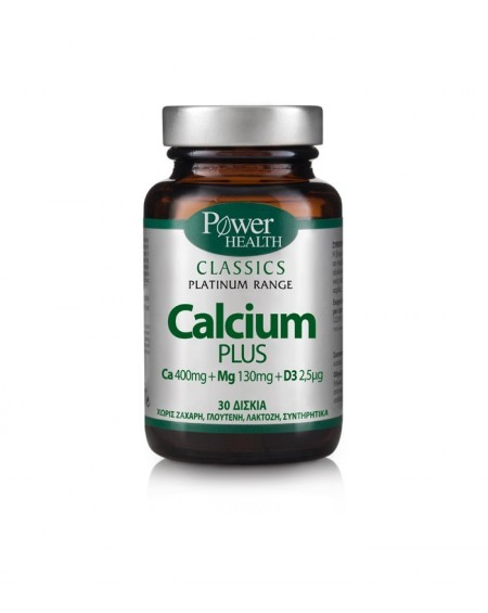 Power Health Classics Platinum Calcium Plus 30disks