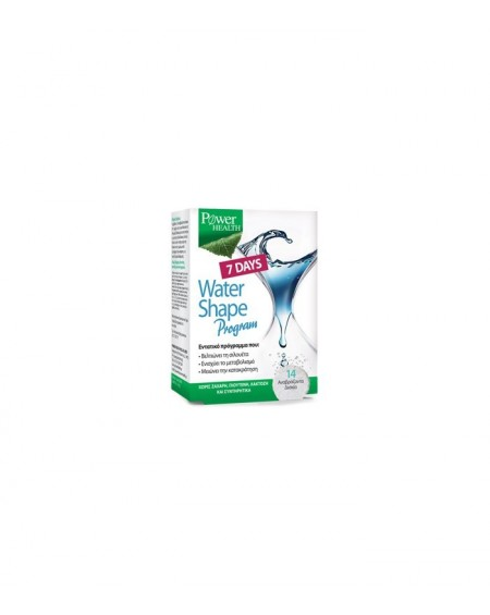 Power Health 7 Days Water Shape Program 14 Effervescent Tablets