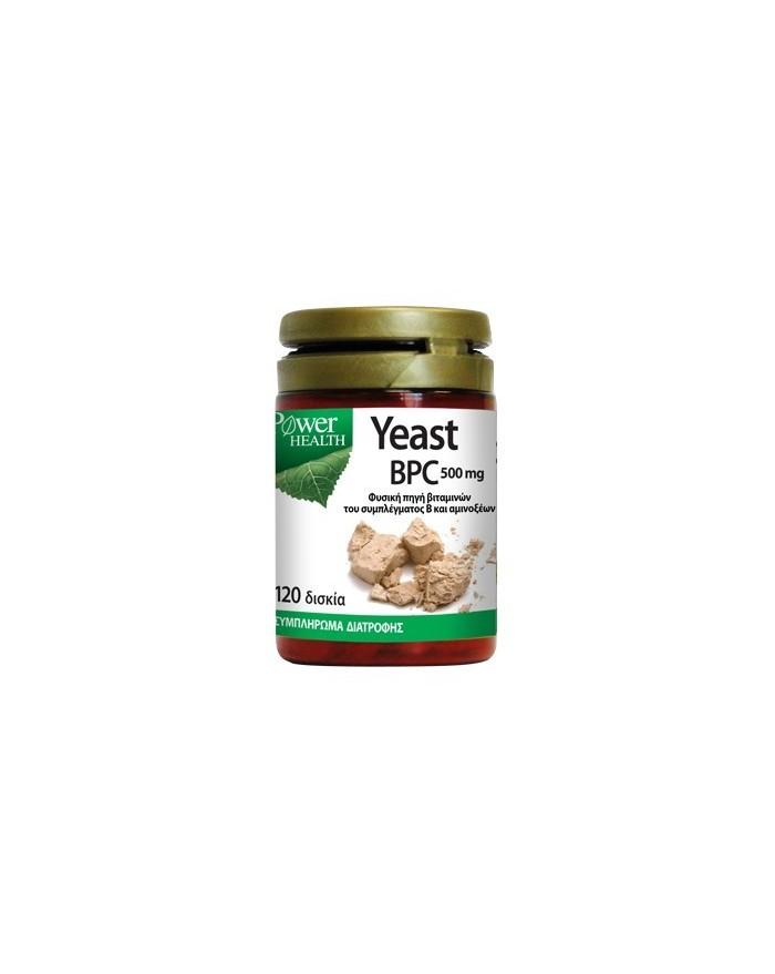 Power Health Yeast BPC 120tabs