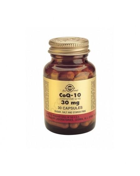 Coenzyme Q-10 30mg Vegicaps 180s