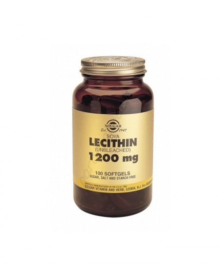 Lecithin 1200mg Softgels 100s