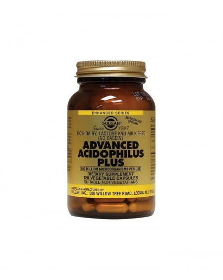 Solgar Advanced Acidophilus Plus Vegicaps 120s