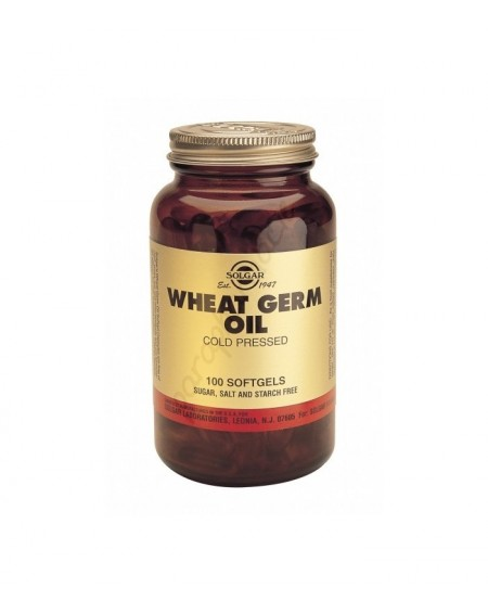 Solgar Wheat Germ Oil 1140MG Softgels 100S
