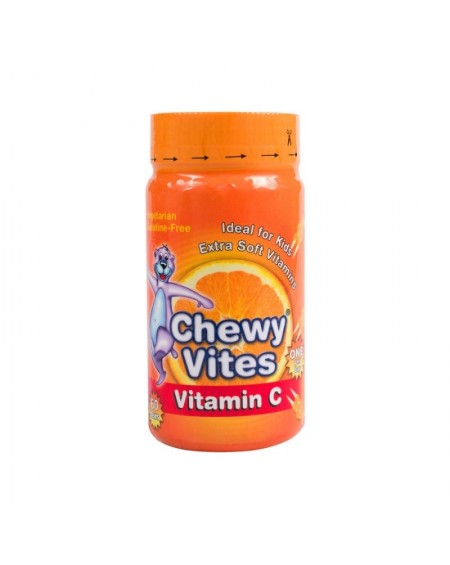 Vican Chewy Vites Για Παιδιά Βιταμίνη C 60ch.Tabs