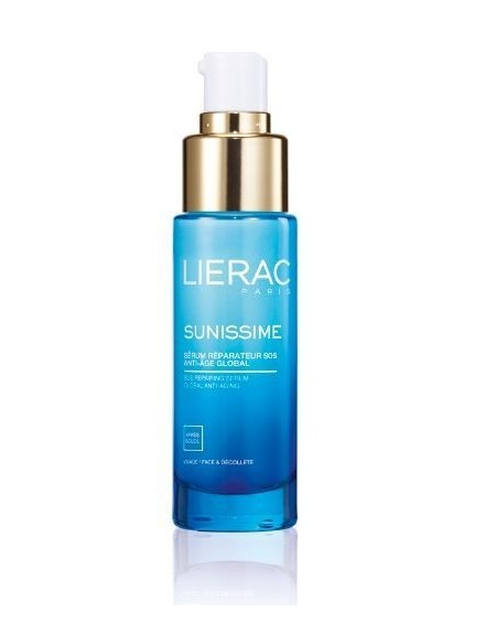 LIERAC SUNISSIME Serum Reparateur SOS Anti-Age Global Visage 30ml