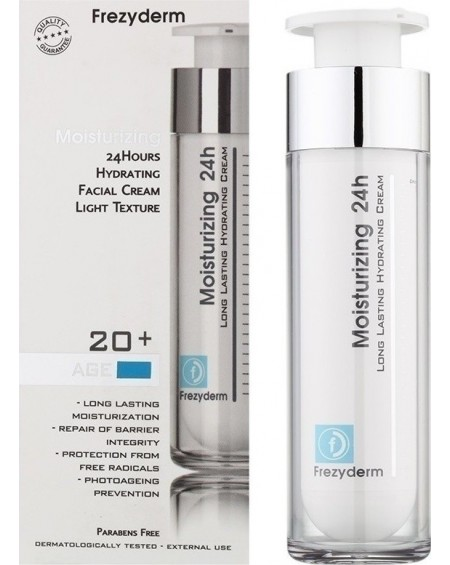 Frezyderm Moisturizing 24h Cream 20+ 50ml