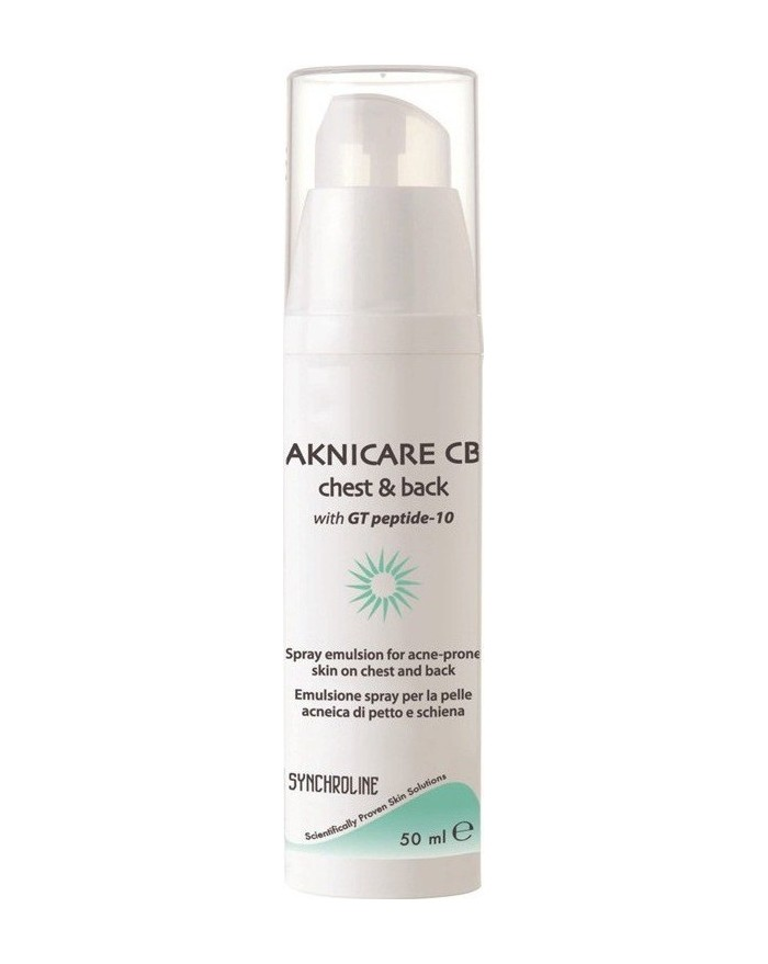 Synchroline Aknicare Chest & Back Spray Emulsion 100ml