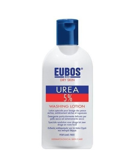 Eubos Urea 5% Washing Lotion Υγρό σαπούνι καθαρισμού & περιποίησης με ουρία 5%, 200ml