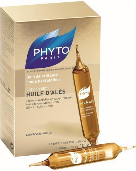 Phyto Huiles D' Ales Αμπούλες Ενυδάτωσης Μαλλιών 5x10ml