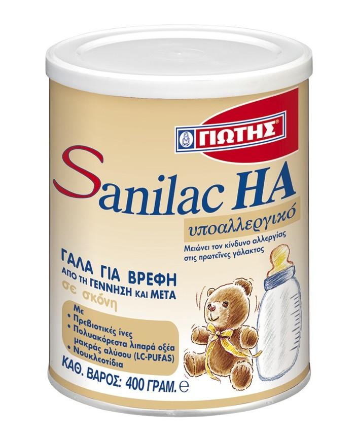 Γιώτης Γάλα Sanilac HA 400gr