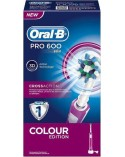 Oral-B Pro 600 CrossAction Colour Edition Pink