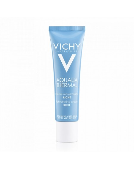 VICHY AQUALIA THERMAL RICHE CREAM FOR DRY SKIN 30ML NEW PRODUCT